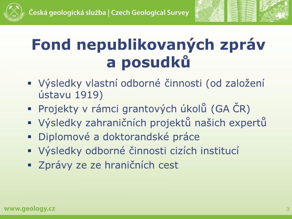 Fond nepublikovaných zpráv a posudků