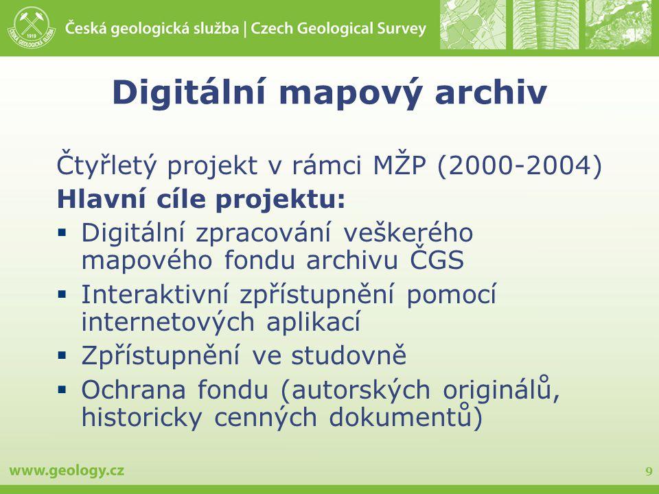 Digitální mapový archiv