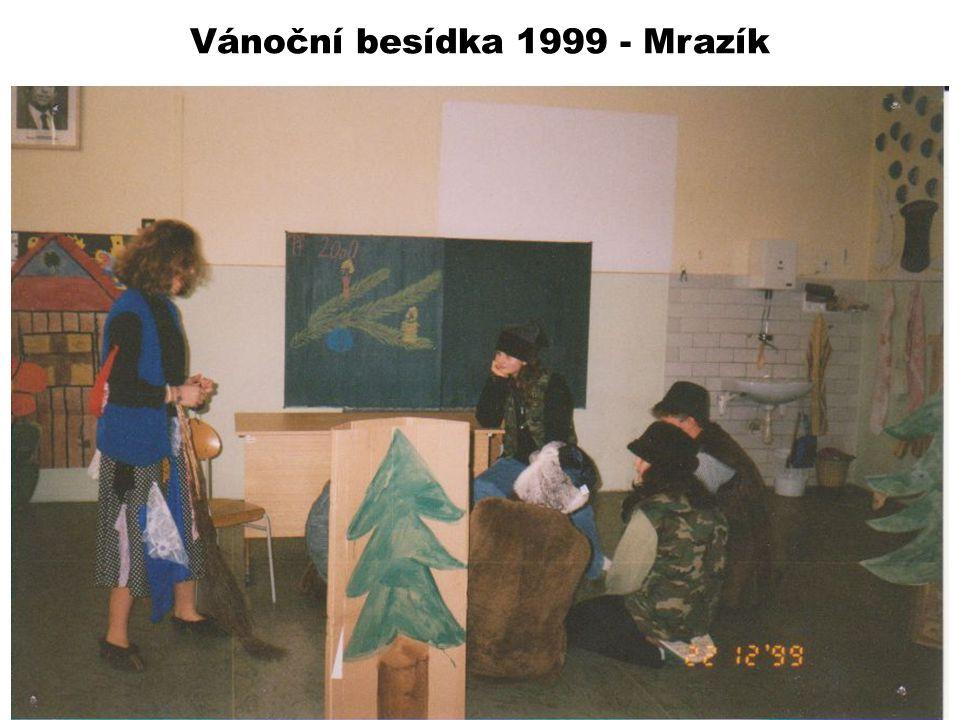 Vánoční besídka 1999 - Mrazík
