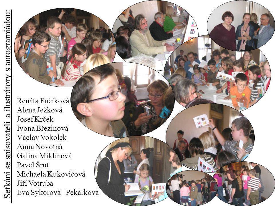 Setkání se spisovateli a ilustrátory s autogramiádou: