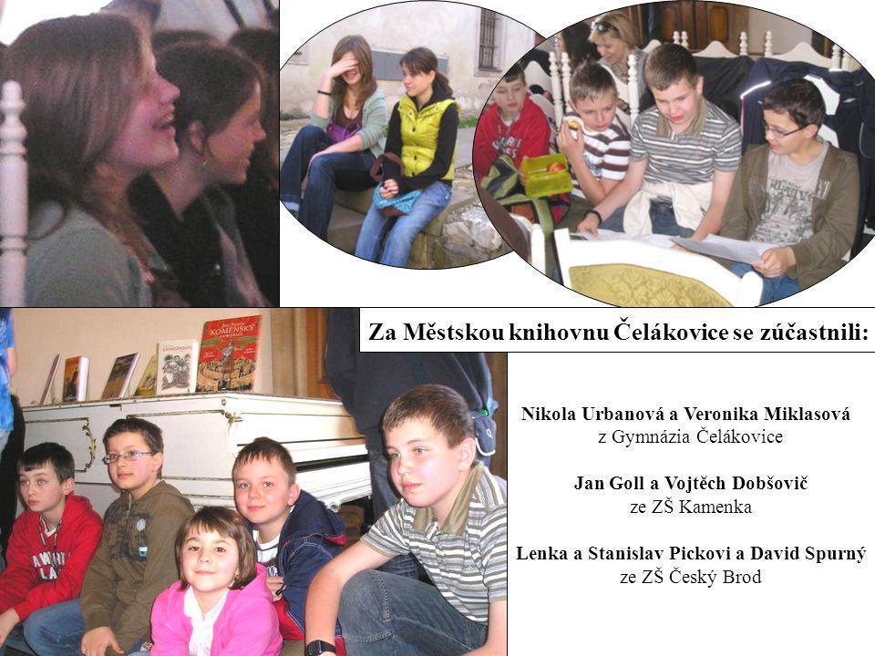Za Městskou knihovnu Čelákovice se zúčastnili: