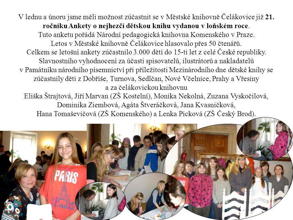 Tuto anketu pořádá Národní pedagogická knihovna Komenského v Praze.