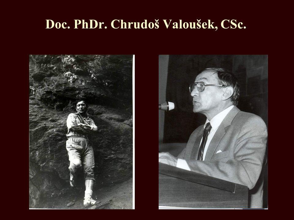 Doc. PhDr. Chrudoš Valoušek, CSc.