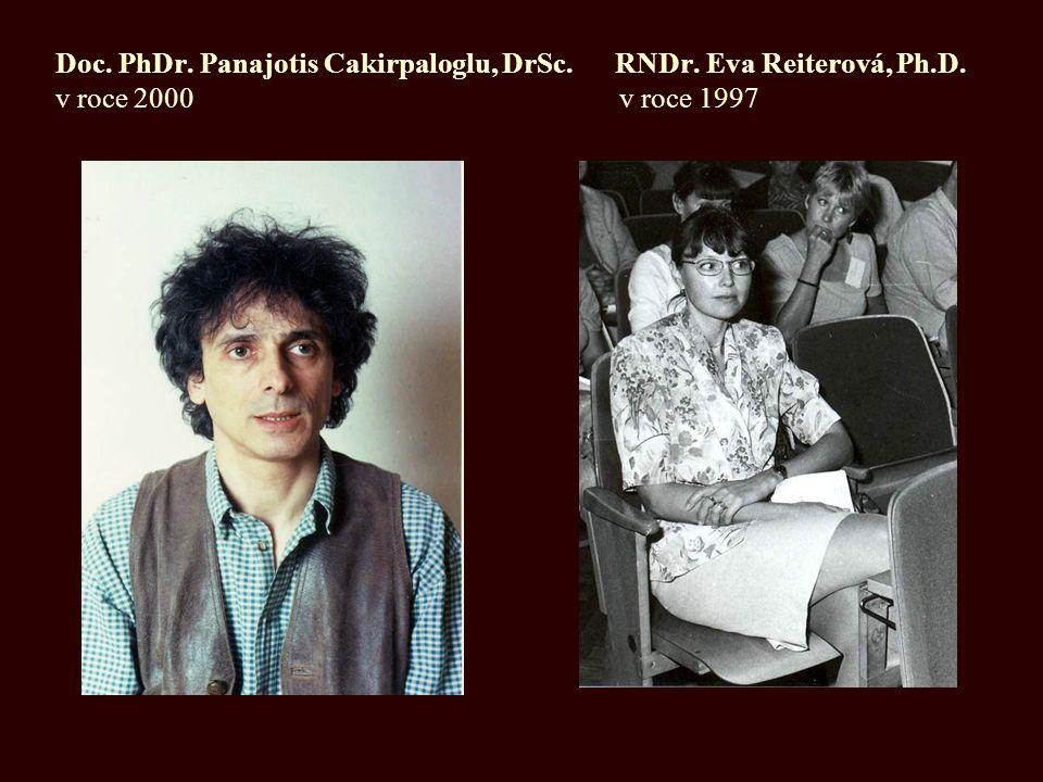 Doc. PhDr. Panajotis Cakirpaloglu, DrSc. RNDr. Eva Reiterová, Ph. D