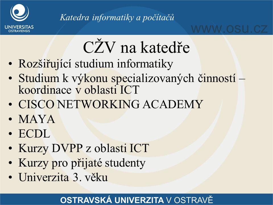 Katedra informatiky a počítačů