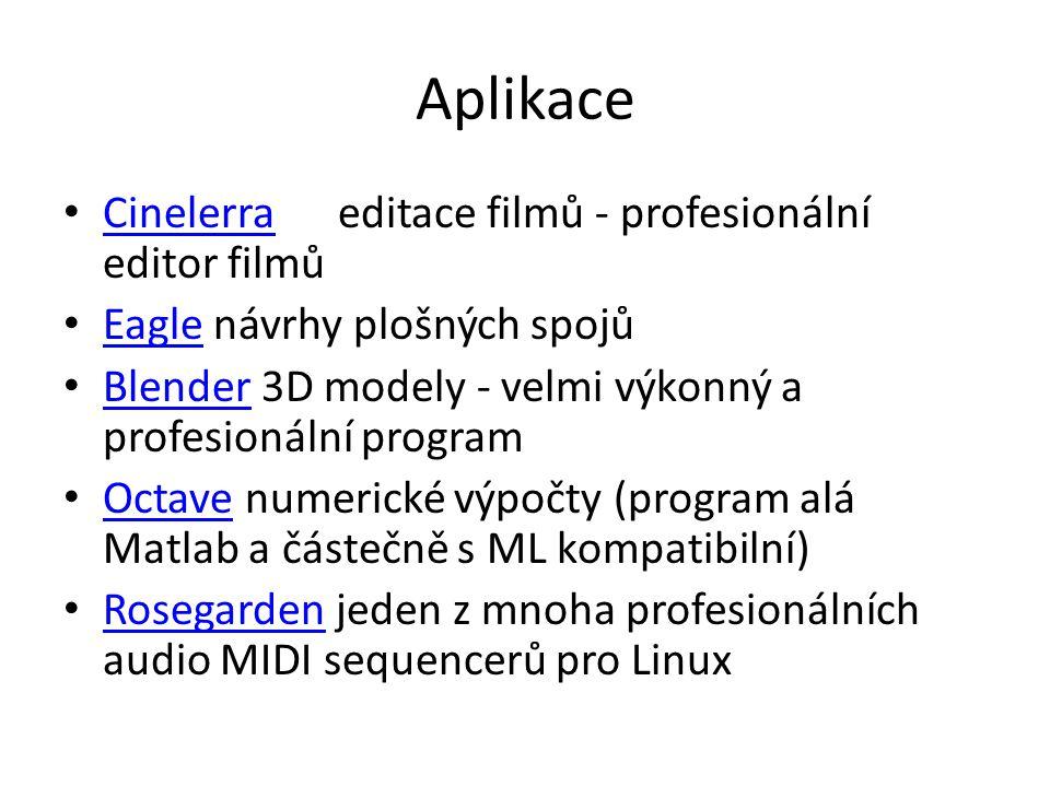 Aplikace Cinelerra editace filmů - profesionální editor filmů