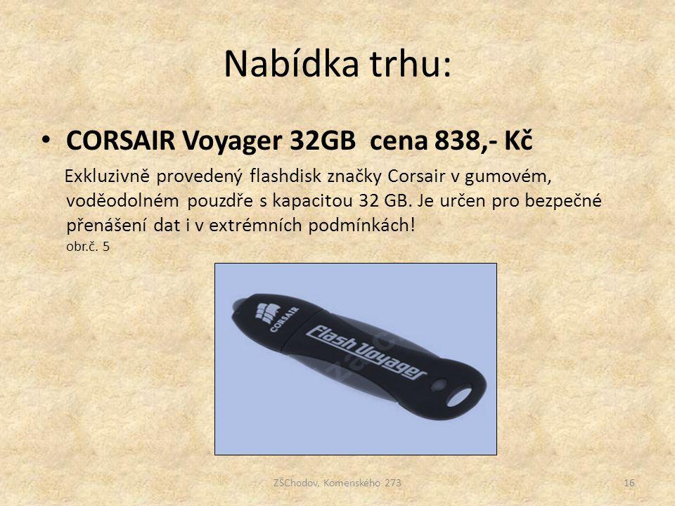 Nabídka trhu: CORSAIR Voyager 32GB cena 838,- Kč