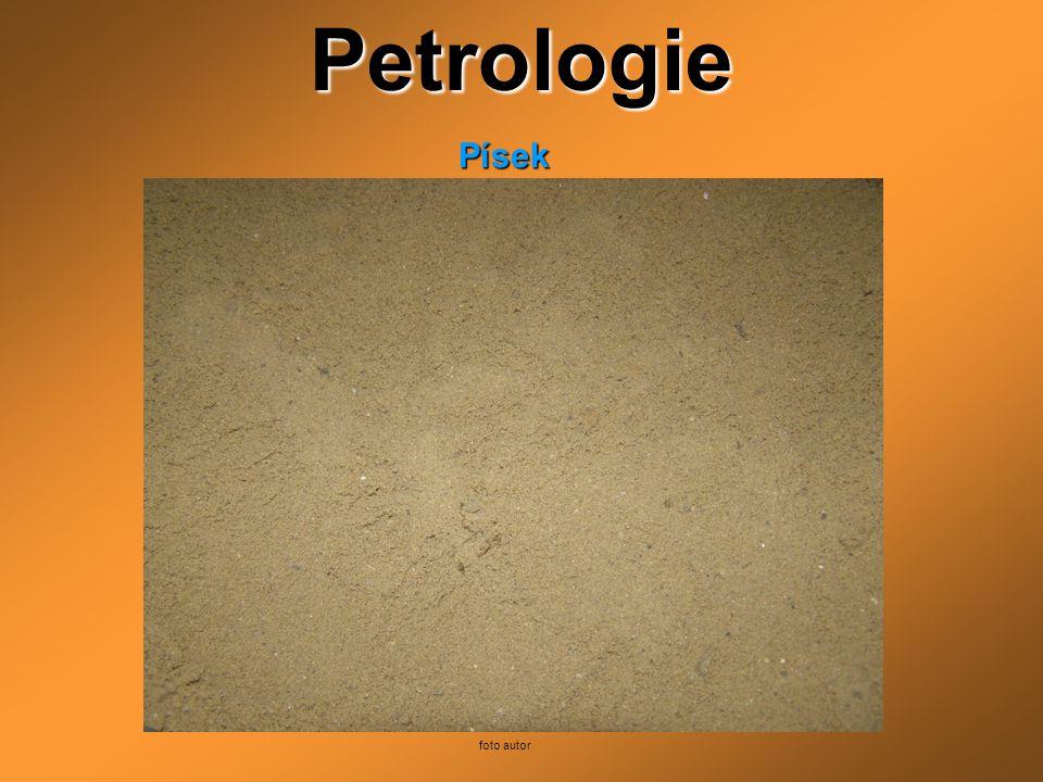 Petrologie Písek foto autor