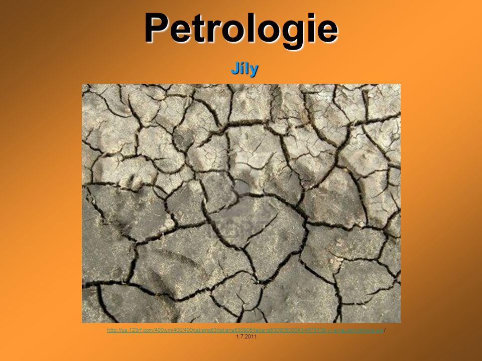 Petrologie Jíly.