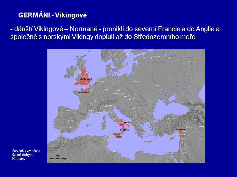GERMÁNI - Vikingové