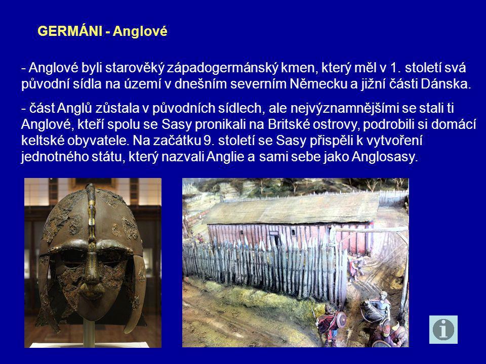 GERMÁNI - Anglové