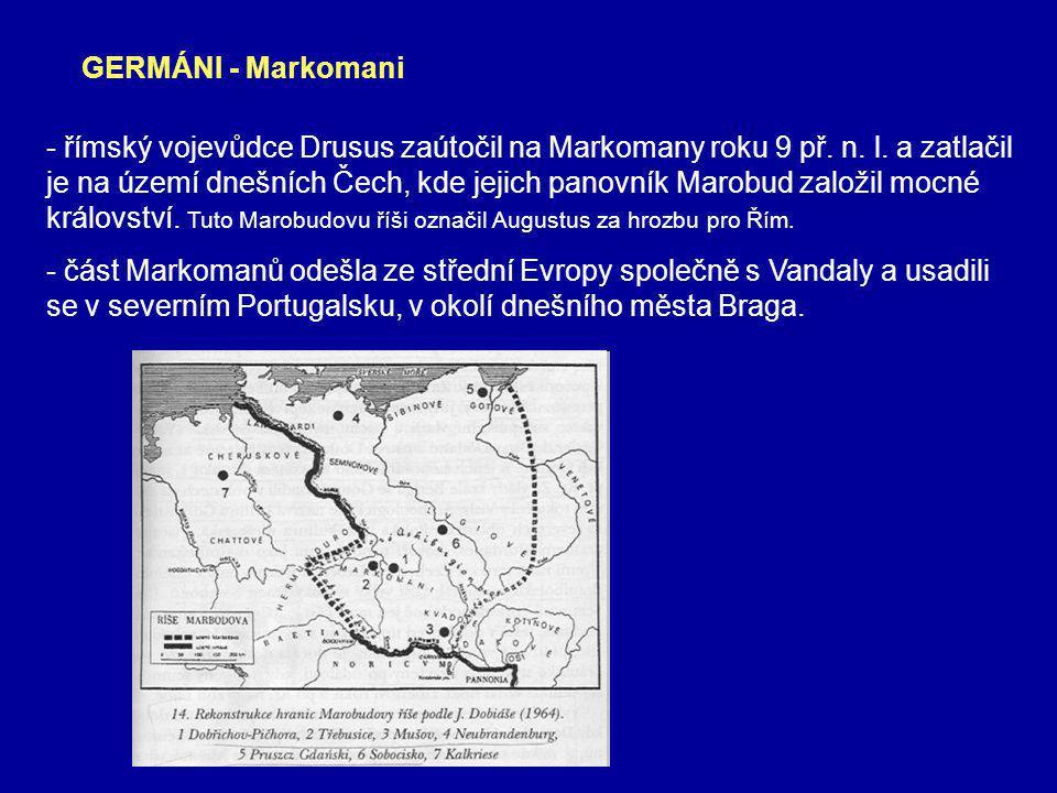 GERMÁNI - Markomani