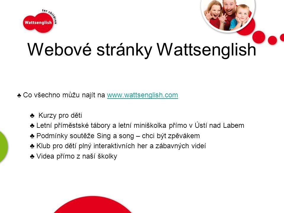Webové stránky Wattsenglish