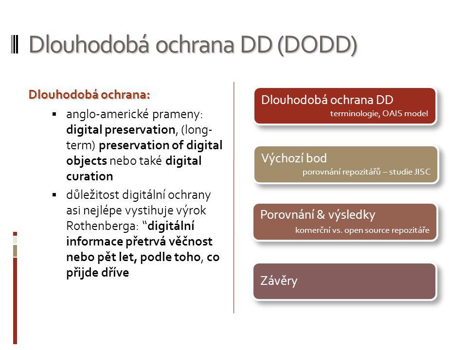 Dlouhodobá ochrana DD (DODD)
