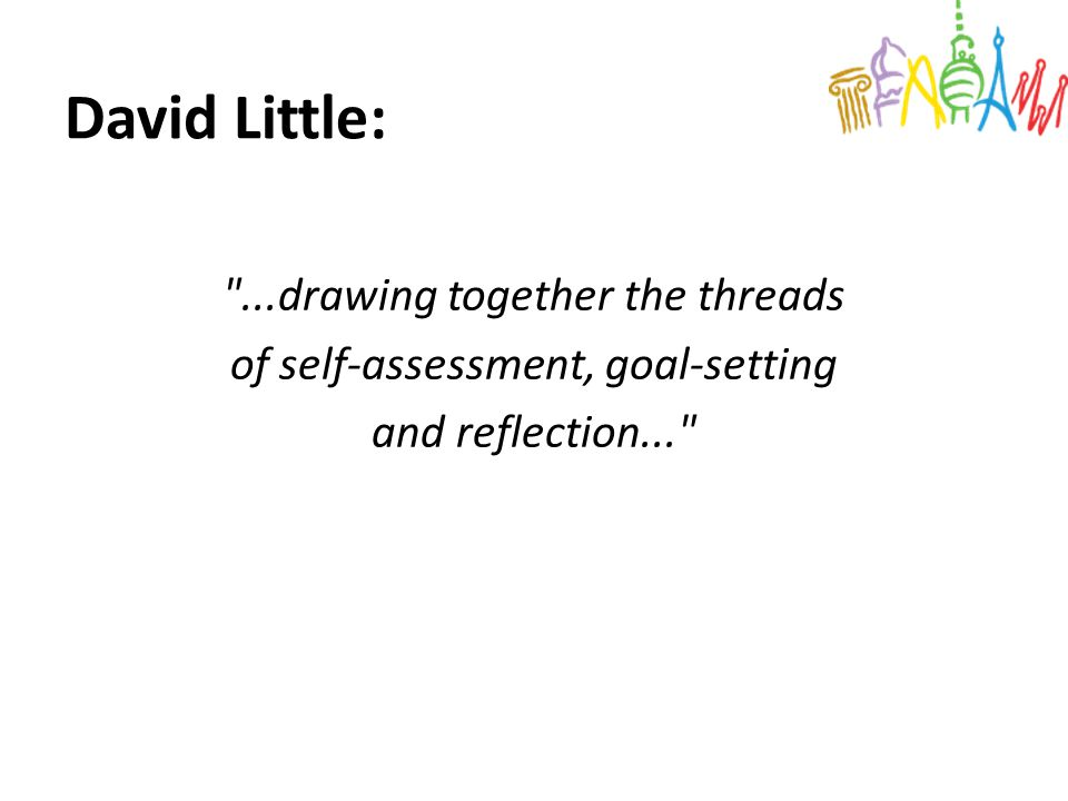 David Little: ...drawing together the threads