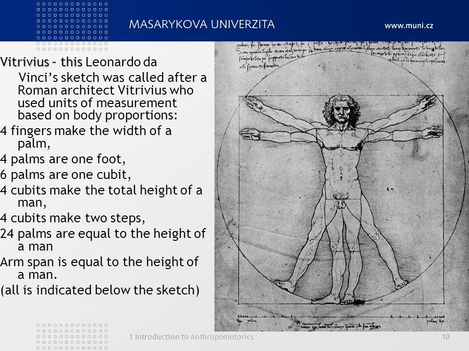 Vitrivius – this Leonardo da