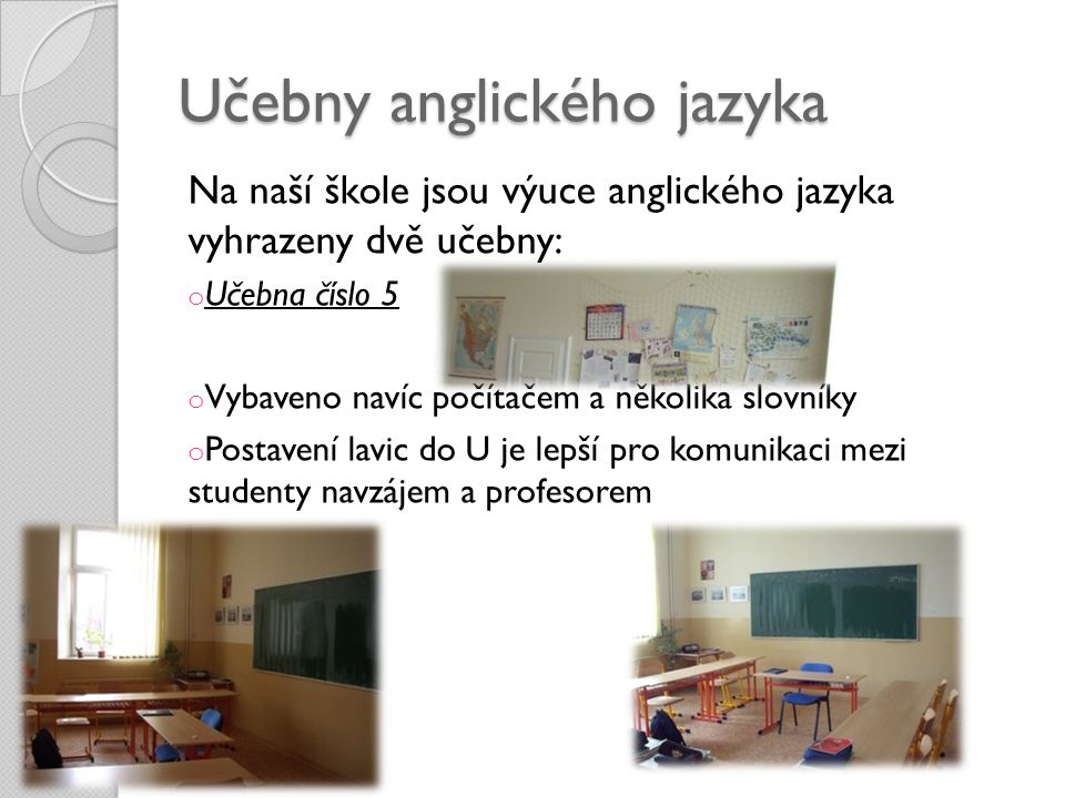 Učebny anglického jazyka