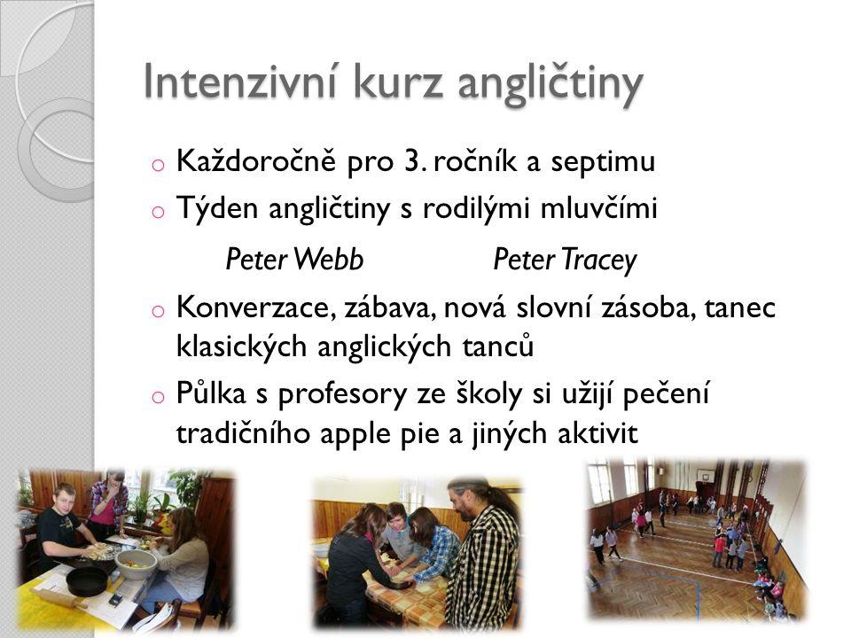 Intenzivní kurz angličtiny
