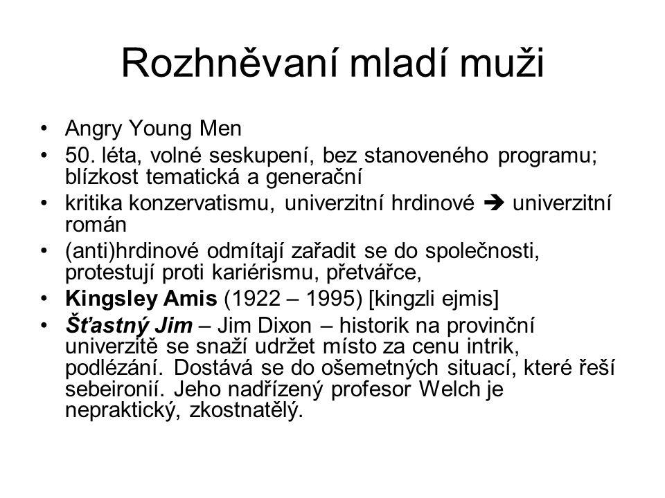 Rozhněvaní mladí muži Angry Young Men