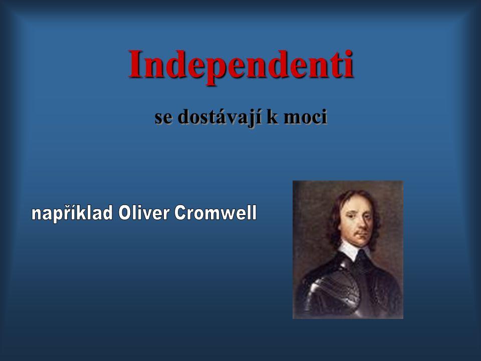 například Oliver Cromwell