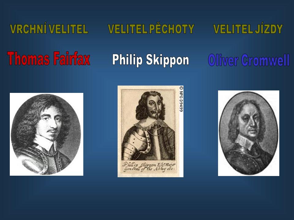 Thomas Fairfax Philip Skippon Oliver Cromwell