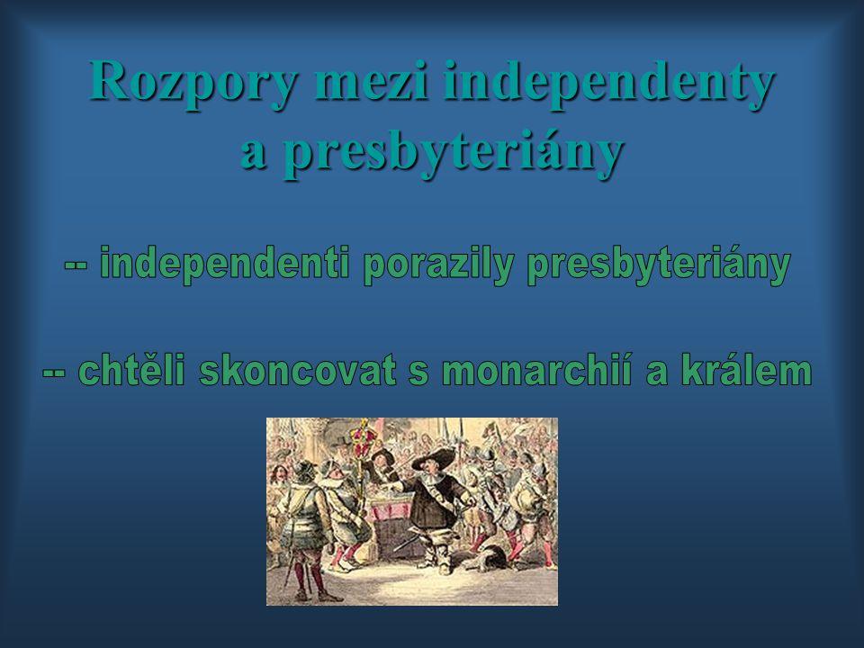 Rozpory mezi independenty a presbyteriány