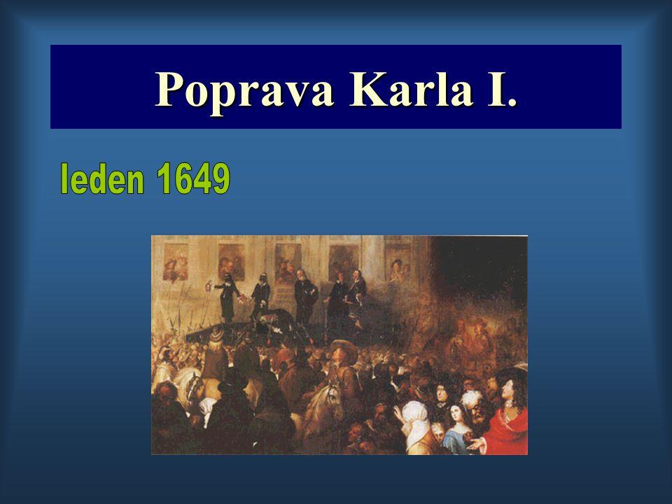 Poprava Karla I. leden 1649
