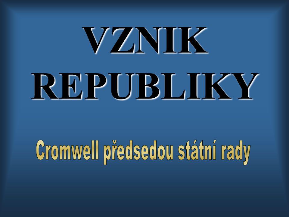 Cromwell předsedou státní rady