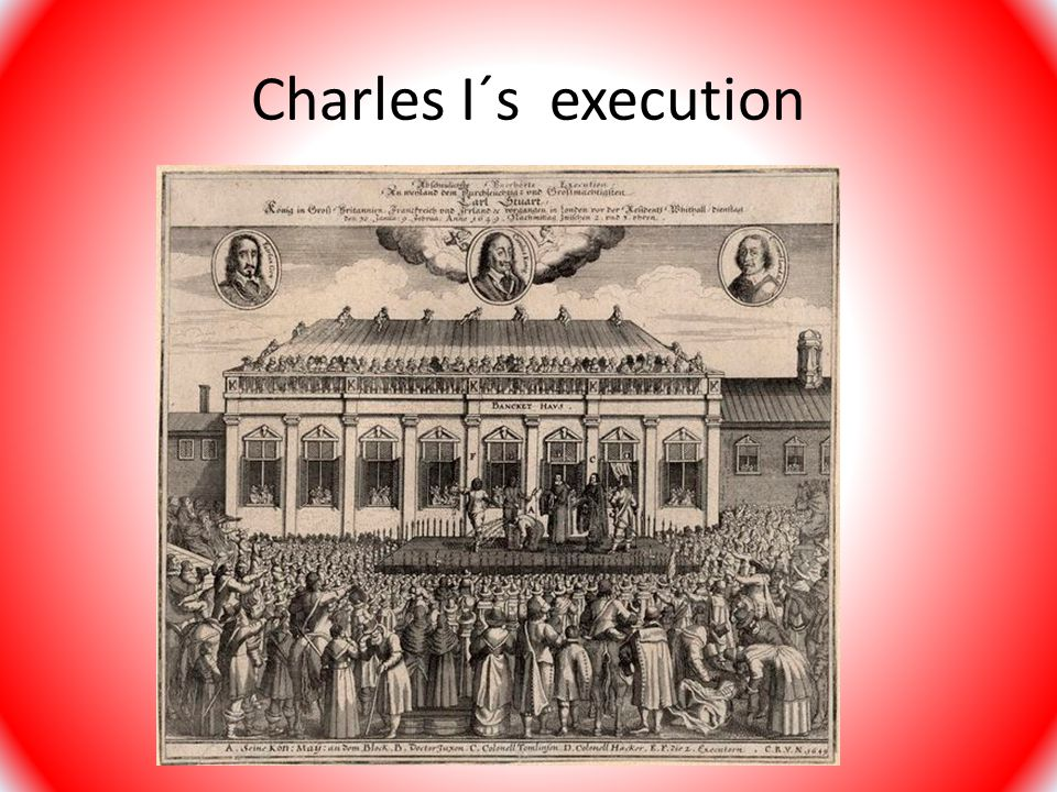 Charles I´s execution