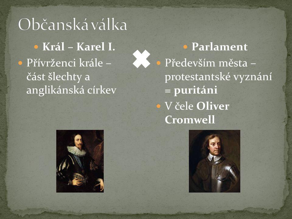 Občanská válka Král – Karel I.