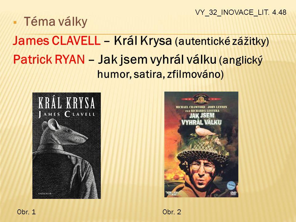 James CLAVELL – Král Krysa (autentické zážitky)