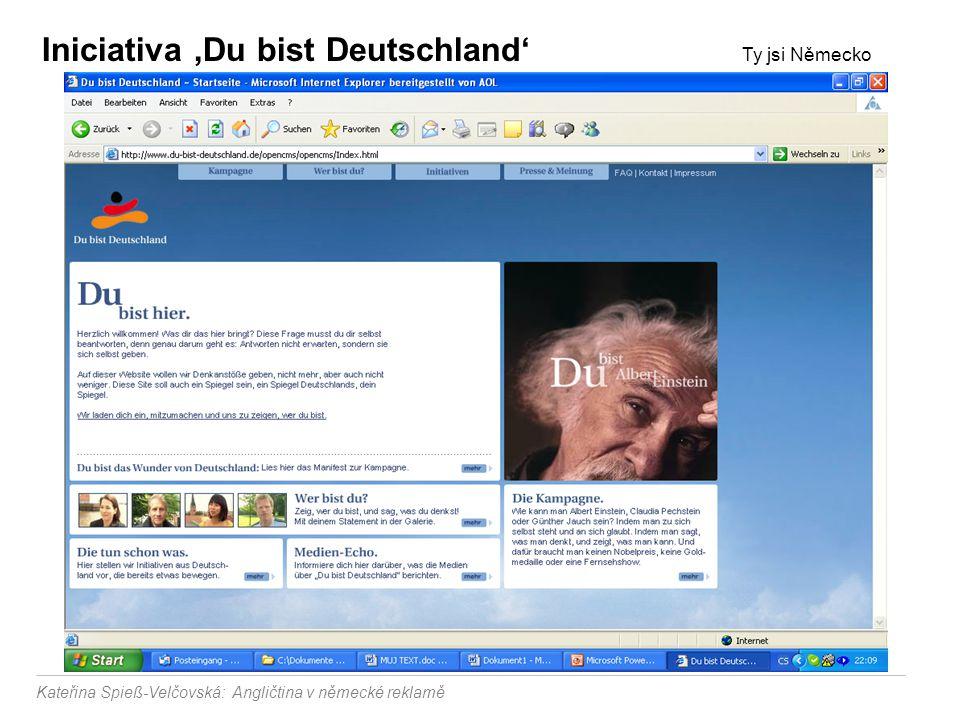 Iniciativa 'Du bist Deutschland' Ty jsi Německo