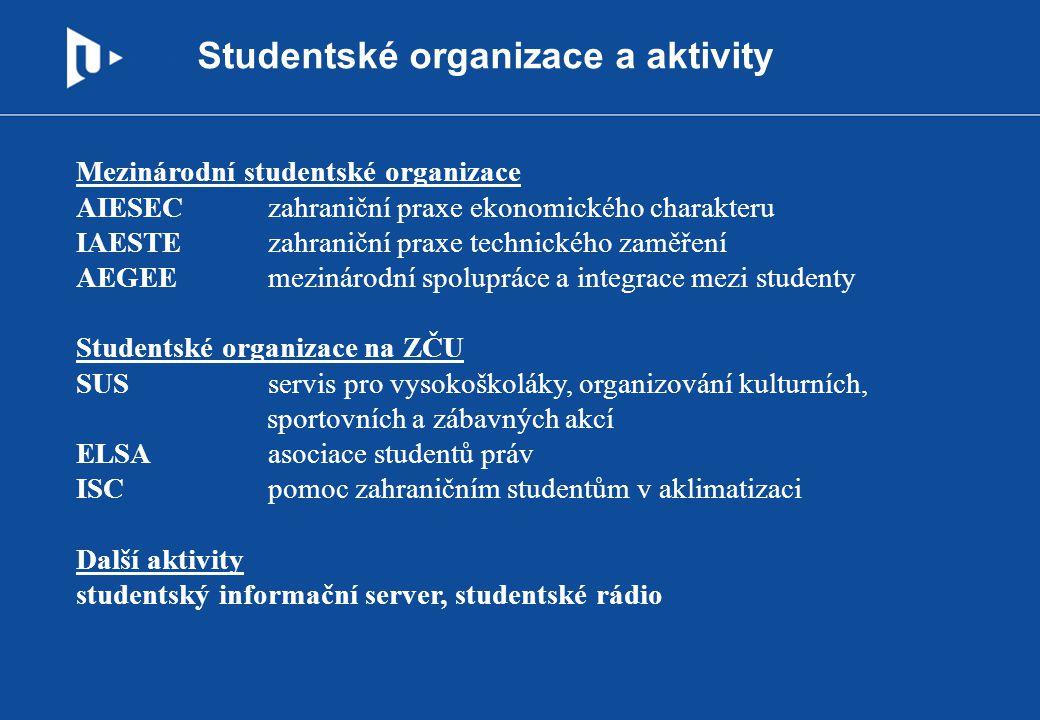 Studentské organizace a aktivity