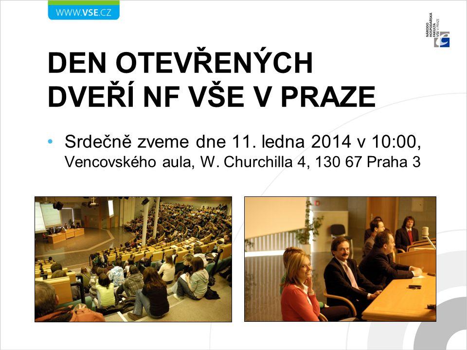 Den otevřených dveří Nf vše v Praze