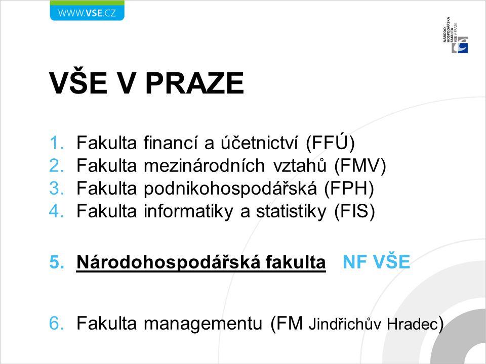 VŠE V PRAZE Fakulta financí a účetnictví (FFÚ)
