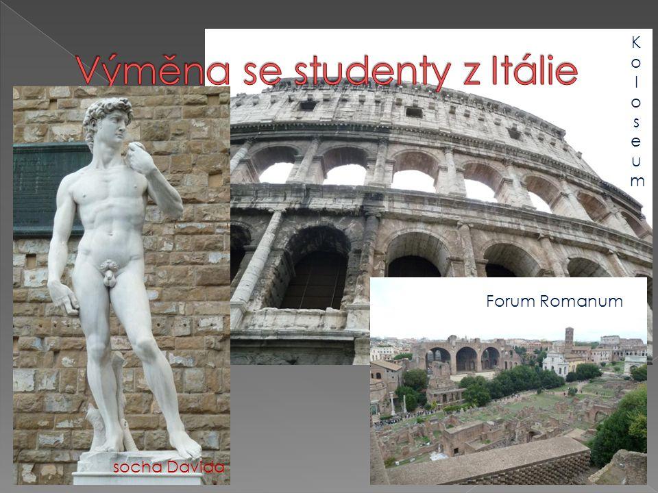 Výměna se studenty z Itálie