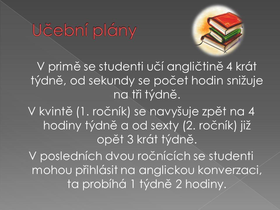 Učební plány