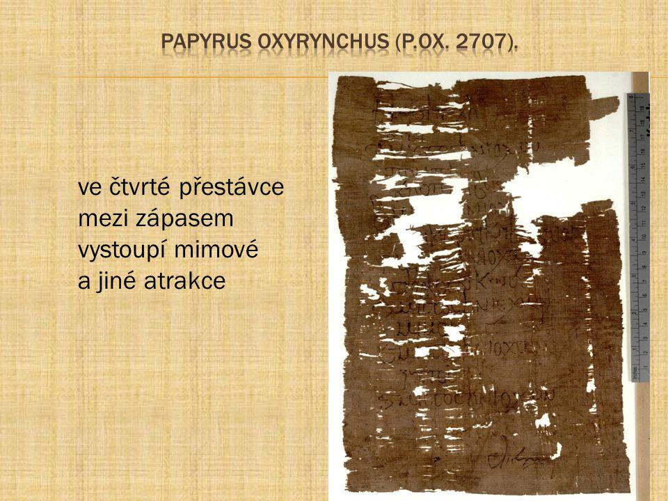 papyrus Oxyrynchus (P.Ox. 2707).