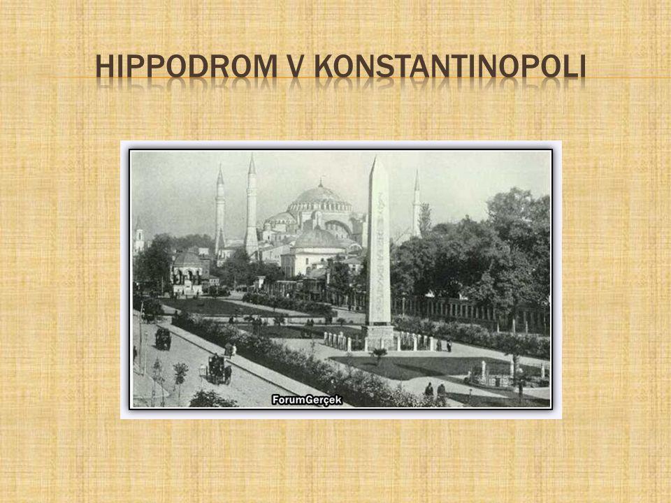 hippodrom v konstantinopoli