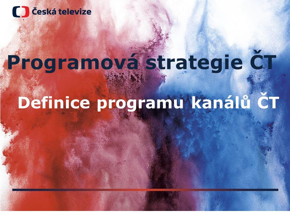 Programová strategie ČT