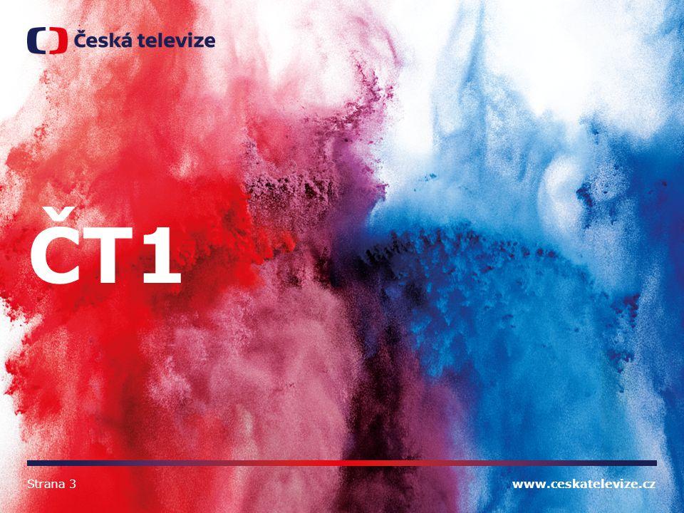 ČT1 Strana 3 www.ceskatelevize.cz