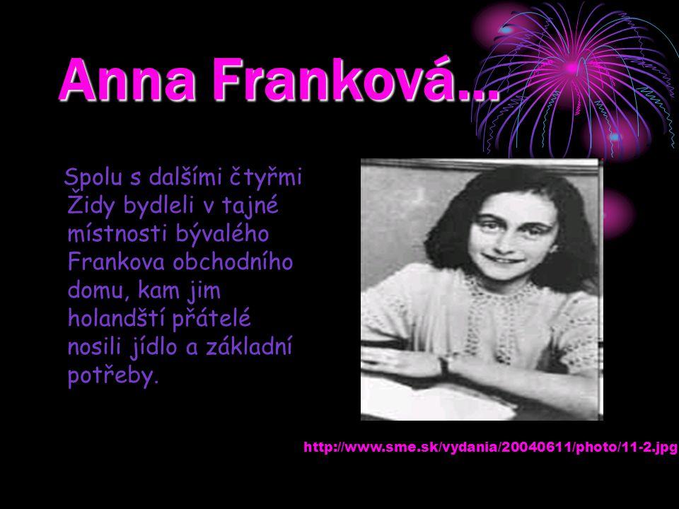 Anna Franková…