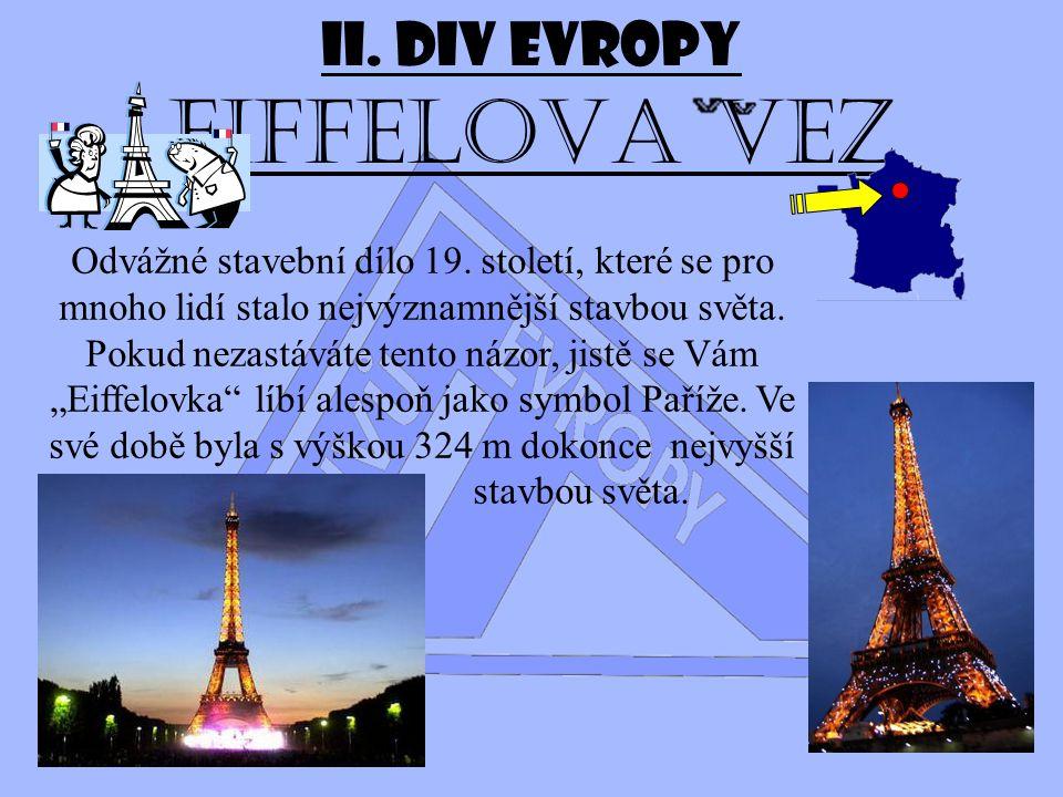 II. Div Evropy Eiffelova vez