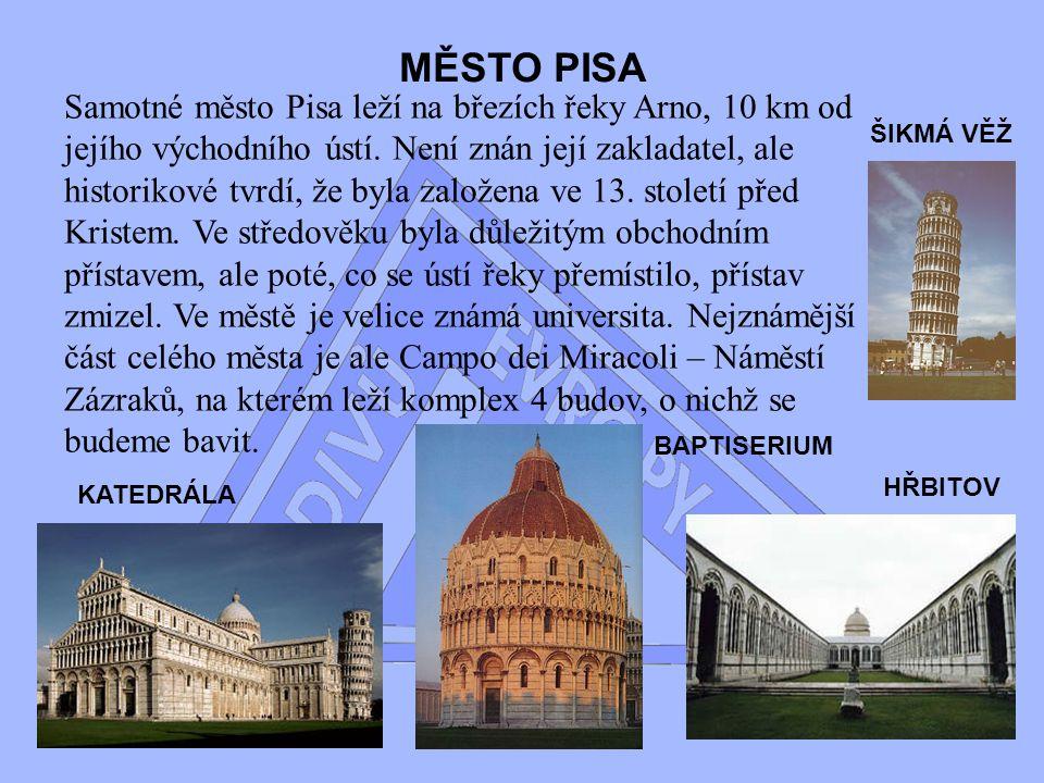 MĚSTO PISA