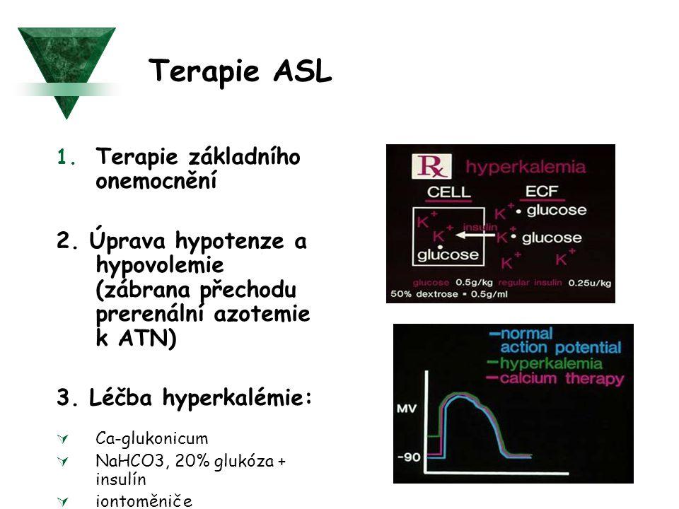 Terapie ASL Terapie základního onemocnění