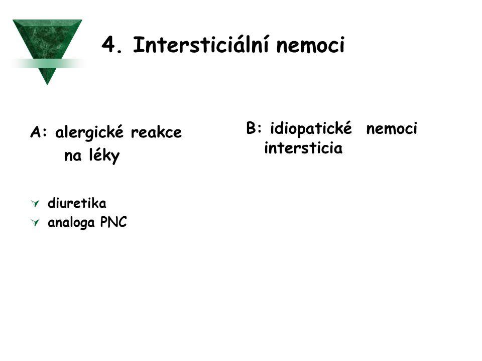 4. Intersticiální nemoci