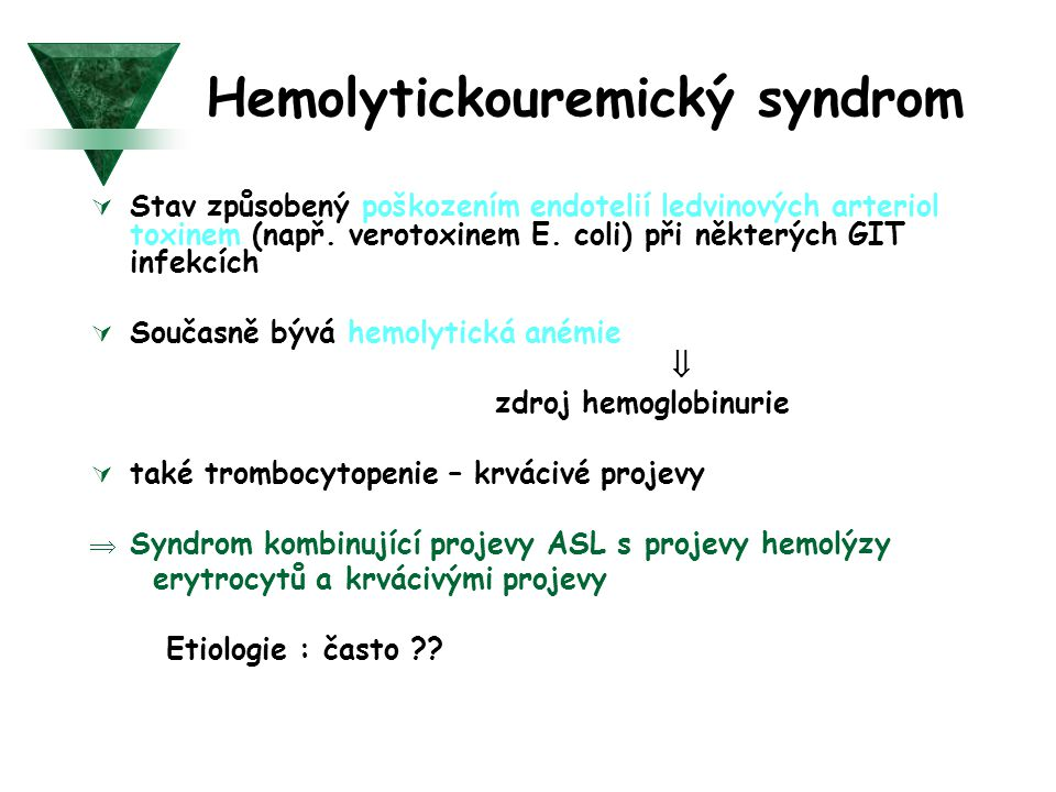Hemolytickouremický syndrom