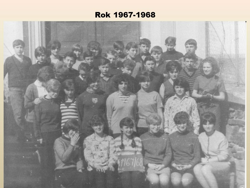 Rok 1967-1968