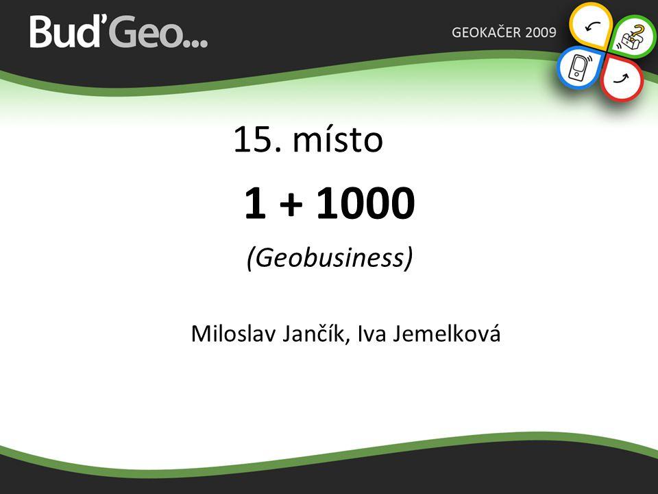 Miloslav Jančík, Iva Jemelková
