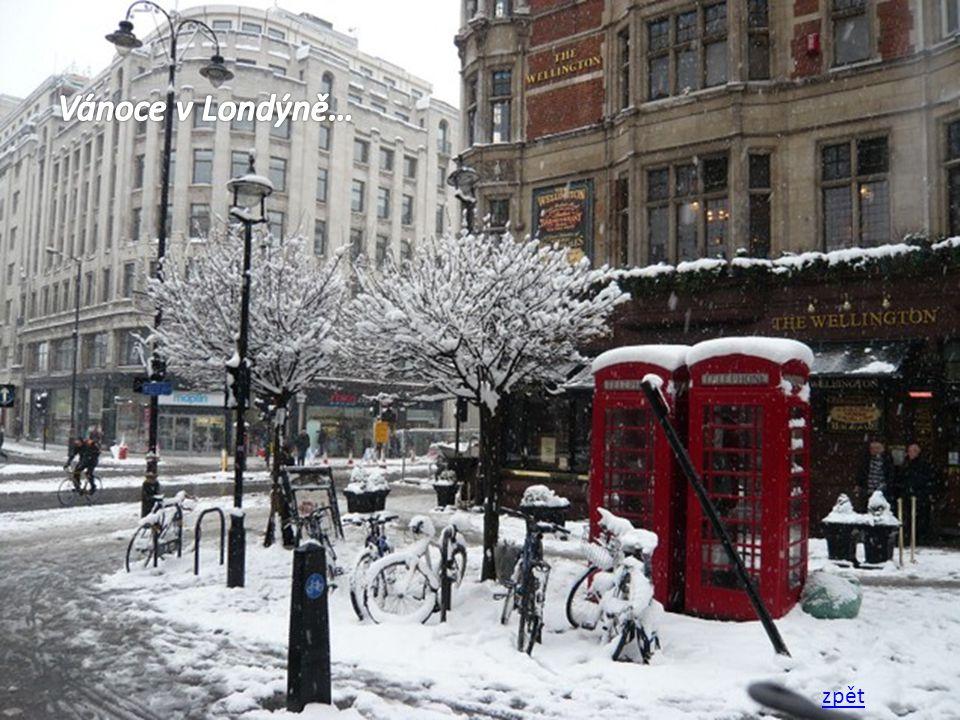 Vánoce v Londýně… zpět